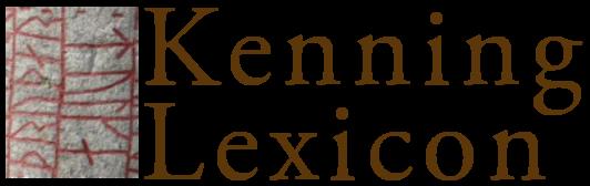 Kenning Lexicon